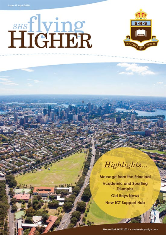 Flying Higher Issue 1 April 2018