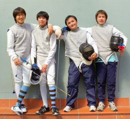 Fencing at Sydney High 1