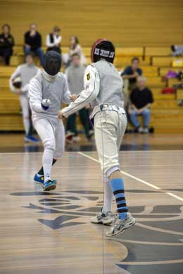 Fencing at Sydney High 2