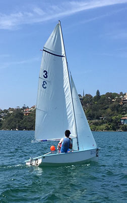 Sailing at Sydney High