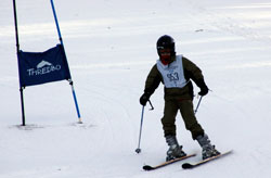 Skiing at Sydney High