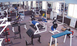 The Alan May Weights Room at Sydney Boys High School